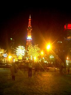 北海道の夜